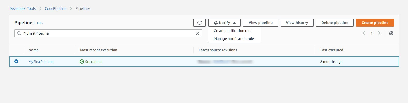 awslagi.com- how to select option to create a notification rule