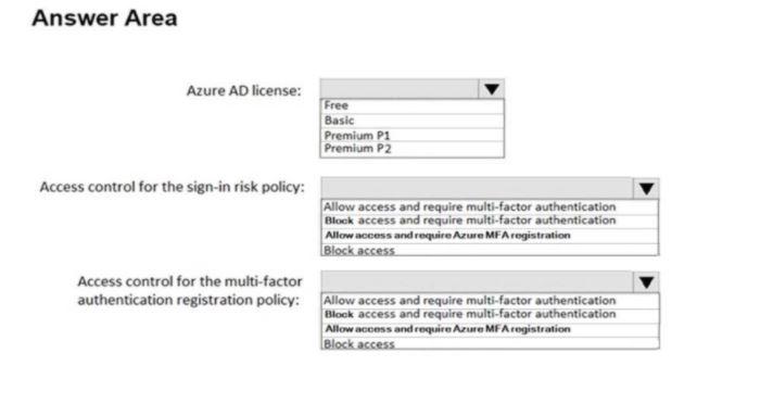 Microsoft Azure Architect Design Exam Question 154.2