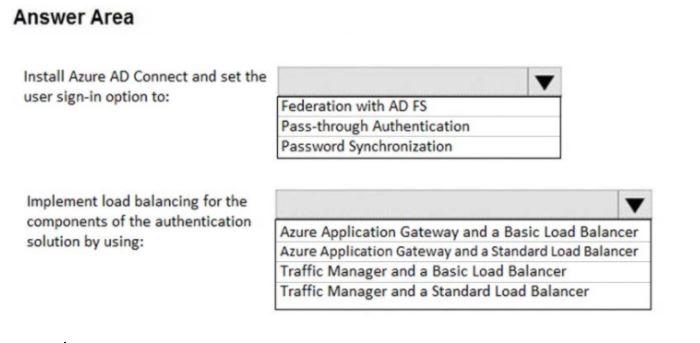 Microsoft Azure Architect Design Exam Question 154.4