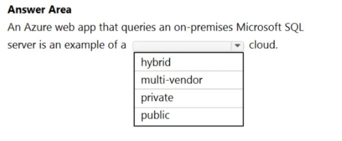 Microsoft Azure Fundamentals Question 19