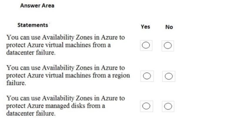 Microsoft Azure Fundamentals AZ-900 Question 37