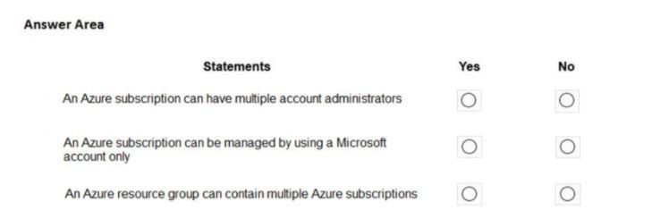 Microsoft Azure Fundamentals AZ-900 Question 38