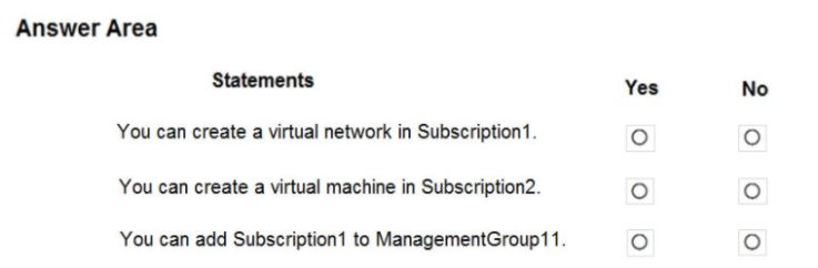 Microsoft Azure Administrator AZ-104 Question 8.3