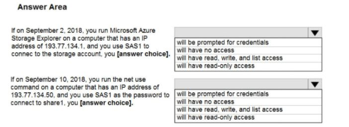 Microsoft Azure Administrator AZ-104 Question 45.1