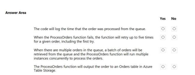 Microsoft Azure Developer AZ-204 Practice Exam Questions 26.1