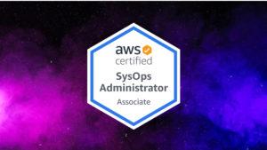 AWS SysOps Administrator Associate Logo