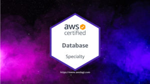 AWS Certified Database Specialty Logo