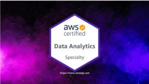 AWS Certified Data Analytics Logo