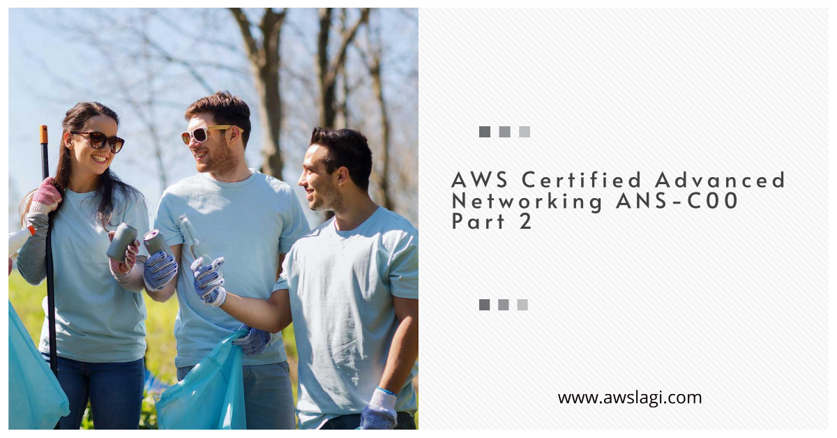 AWS Certified Advanced Networking ANS-C00 Exam Questions Part 2