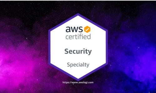 AWS Certified Security Specialty SCS-C01 Actual Exam