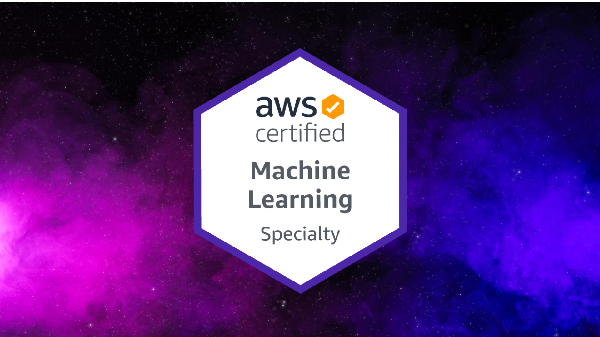 AWS Certified Machine Learning Specialty MLS-C01 Logo