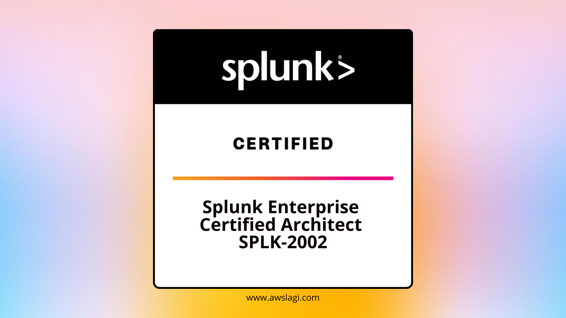 Splunk-Enterprise-Certified-Architect-SPLK-2002