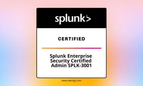 Splunk Enterprise Security Certified SPLK-3001 Actual Exam