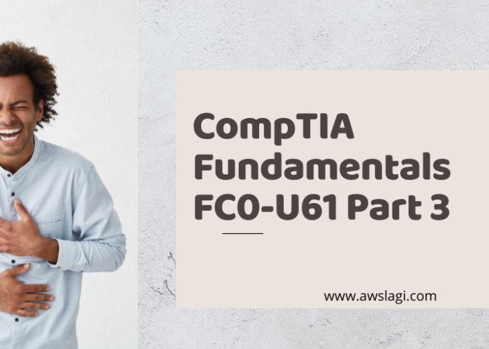 CompTIA Fundamentals FC0-U61 Exam Dumps Part 3